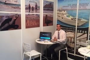 Galapagos Stella Maris present in international tourism.